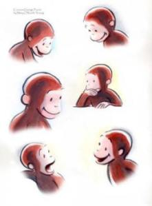Curious George's Faces2cmp