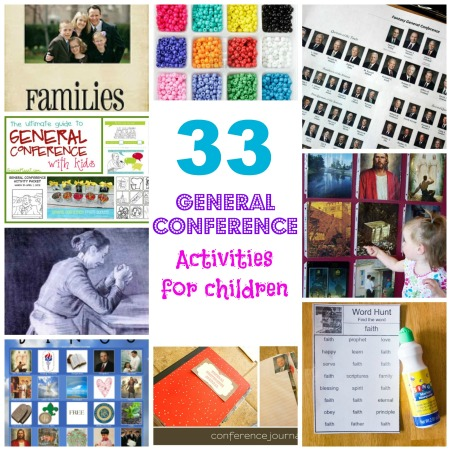 33 General Conference Activities for Children