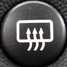 defrost button